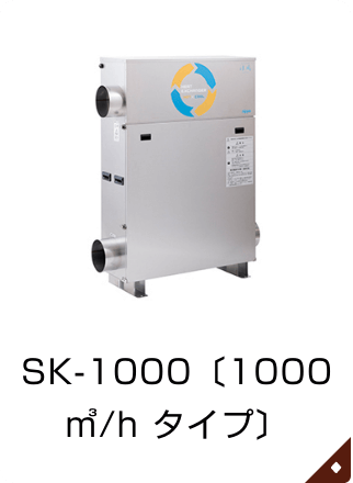 SK-1000〔1000㎥/h タイプ〕 SK-1000〔1000㎥/h タイプ〕